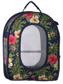 VOT 21356 Bird Traveler Carrier - Floral - UPPSELT!
