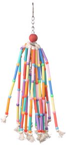 SBC SB708 - Wind Chimes - Colorful Straws & Bell