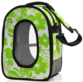 AEC 00715 Soft Sided Travel Carrier - Green - L