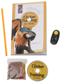 CLT 00113 Clicker Training Kit For Birds