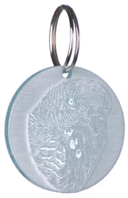 FUN 723 Budgie Key Chain