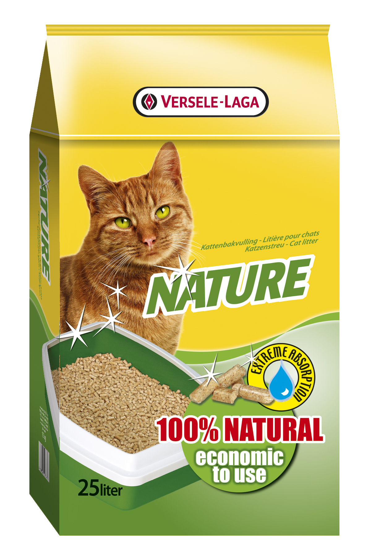 Versele-Laga Nature® Cat Litter  - 25L
