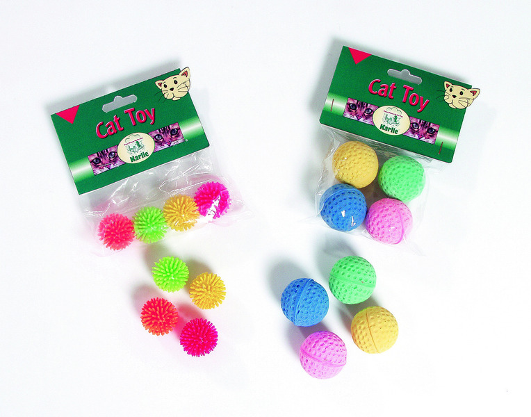 Coloured Sponge Balls 4,5cm x4