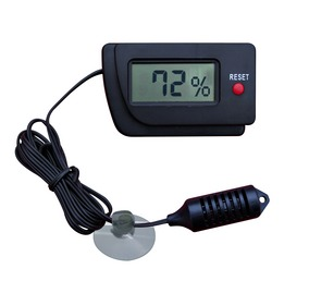 Reptiland® Digital Hygrometer with Remote Sensor