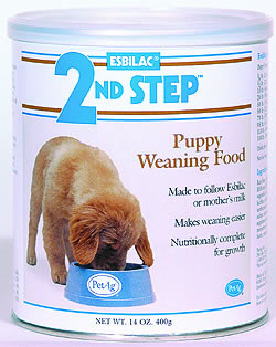Esbilac 2nd Step Puppy Weaning Food - 400g - UPPSELT!