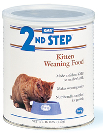 KMR 2nd Step Kitten Weaning Food - 400g - UPPSELT!