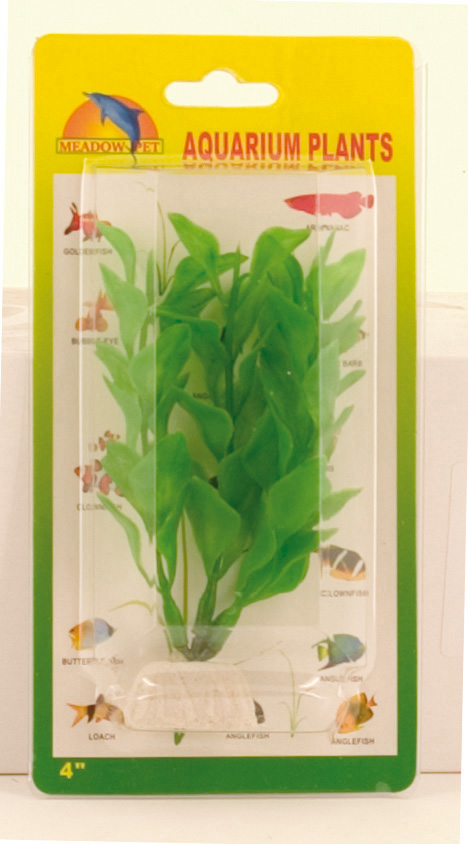 Plastic Plant Decor - Green Bacopa 10cm