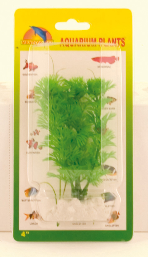 Plastic Plant Decor - Green Ambulia 10cm