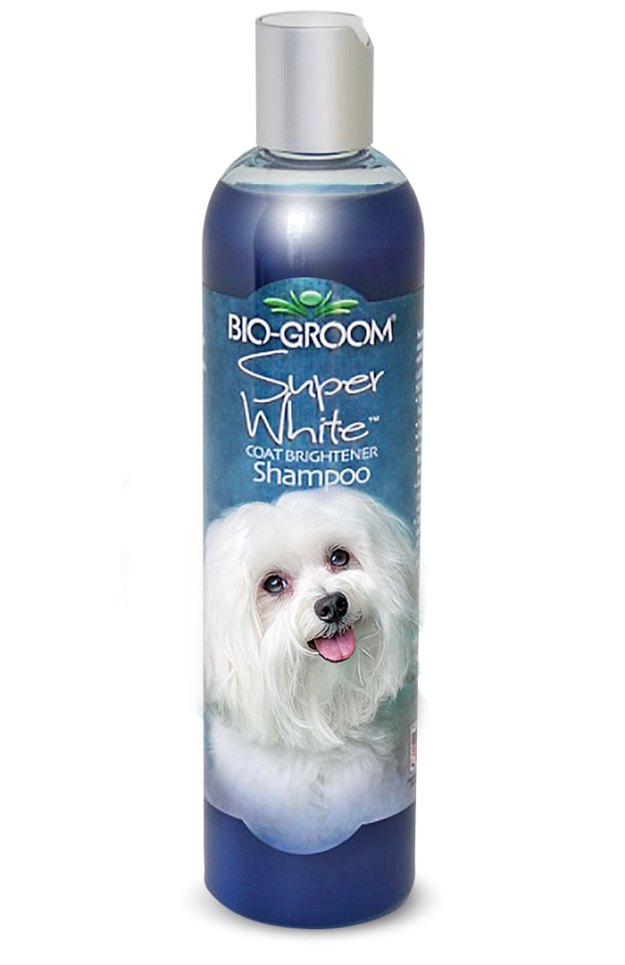 Bio-Groom Super White Coat Brightener Shampoo - 355ml