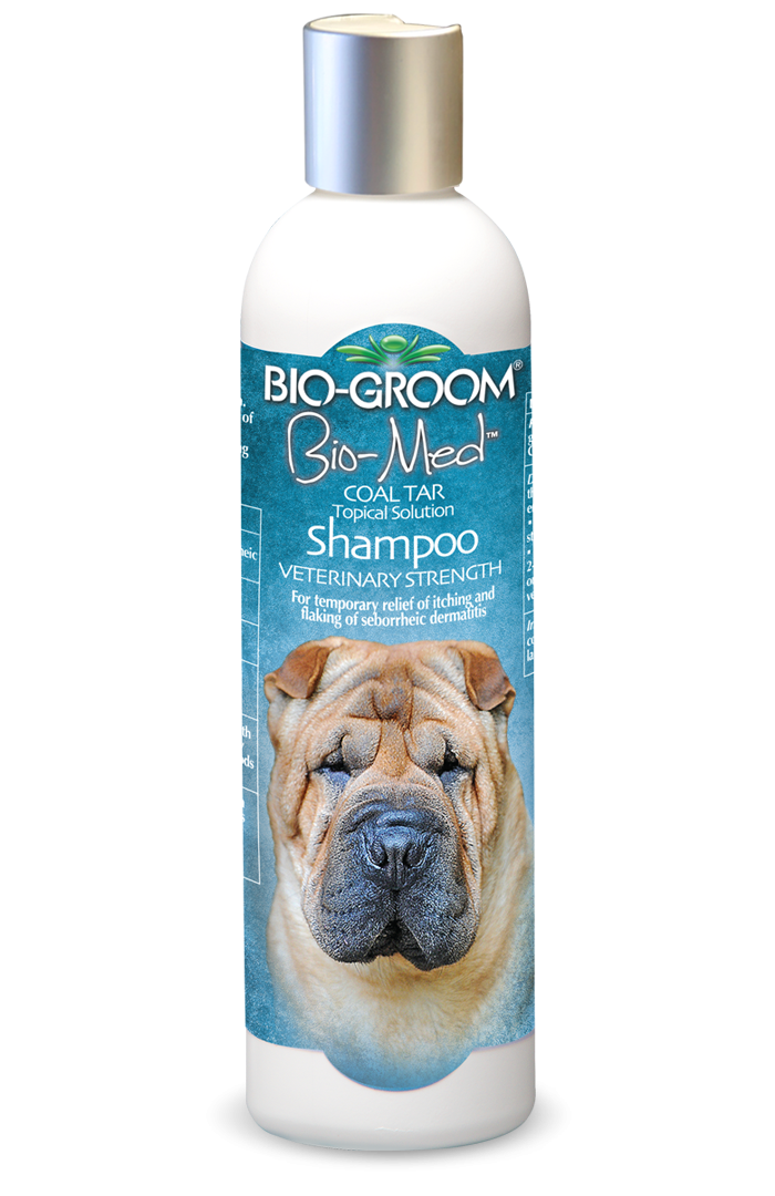 Bio-Groom Bio-Med Coal Tar Shampoo - 355ml
