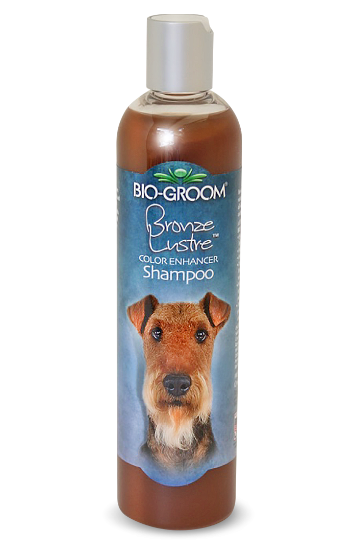 Bio-Groom Bronze Lustre Color Enhancer Shampoo - 355ml