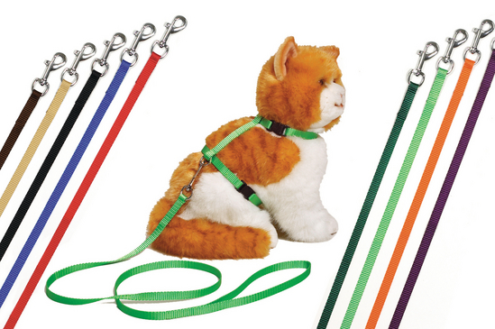 Art Sportiv Cat Harness Black 110cm