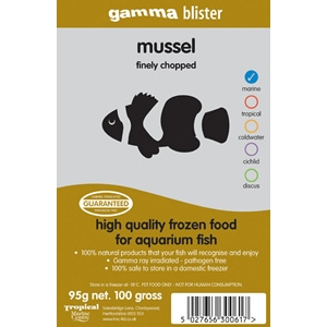 Gamma Blister Finely Chopped Mussel 100g