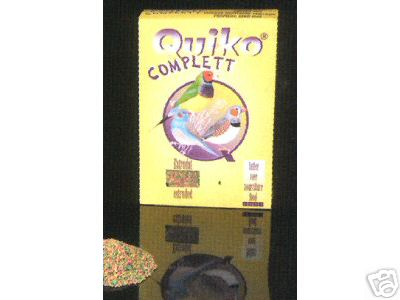 Quiko Complett Exotic Finches 1kg
