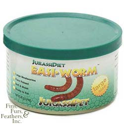 JurassiDiet EasiWorms Large 34g - UPPSELT!