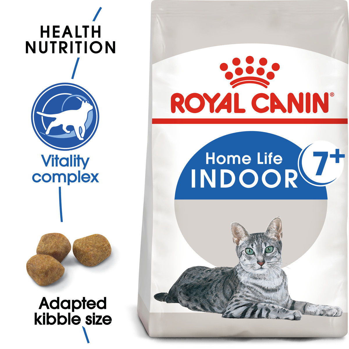 RC Indoor +7 Home Life Dry Adult Cat Food - 3,5kg