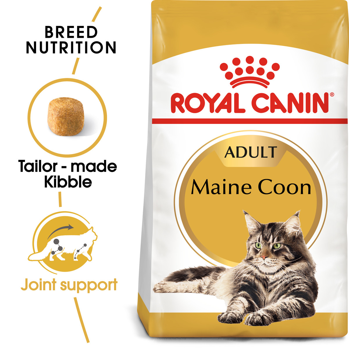 RC Maine Coon Dry Adult Cat Food - 10kg