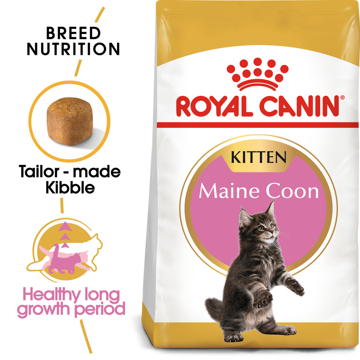 RC Maine Coon Kitten Dry Cat Food - 4kg