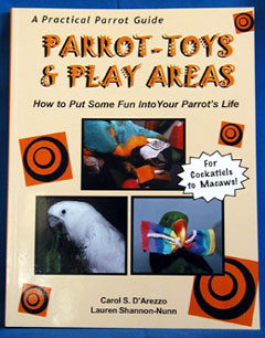 Parrot-Toys & Play Areas - How to Put Some Fun Into Your Parrots
