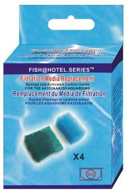 Replacement Filter Material for Pan/Hex 5 Aquariums