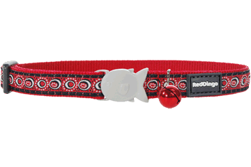 Red Dingo Cat Collar - Cosmos Red