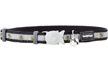 Red Dingo Cat Collar - Bumble Bee Black
