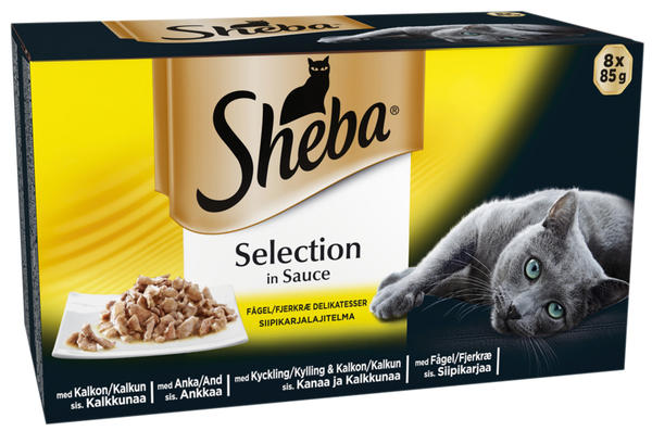 Sheba Poultry Selection in Sauce Wet Food - 8x85g