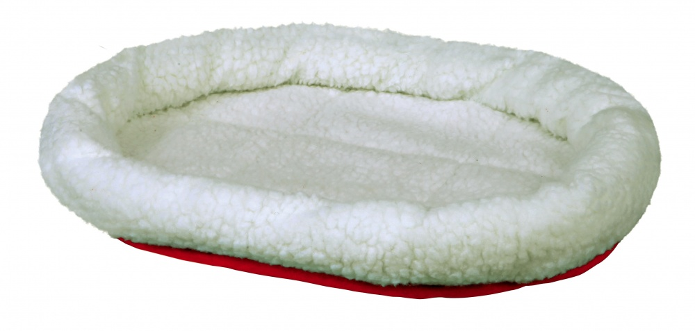 Cuddly Bed Reversible - Wool White/Red