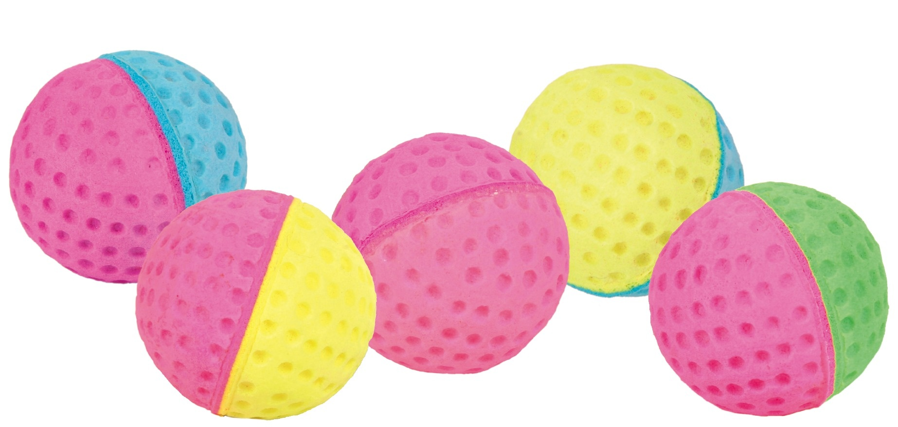 Assortment Soft Balls 4,3cm - x80