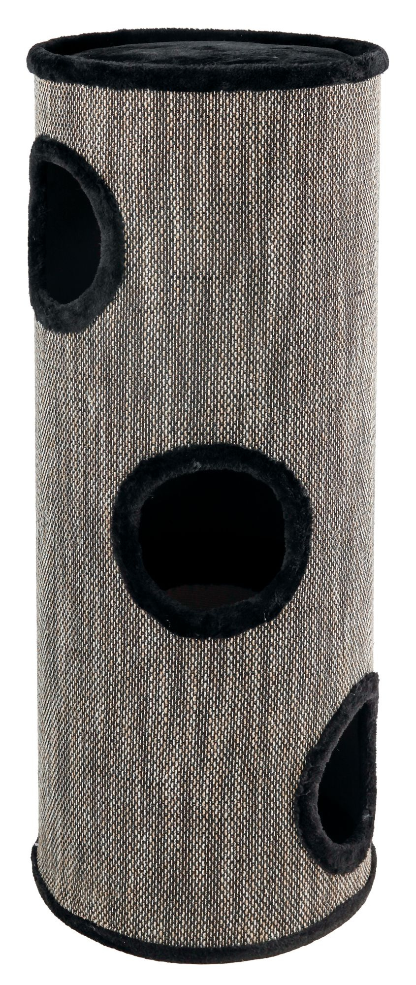 Amando Cat Tower - Mottled Black/Black