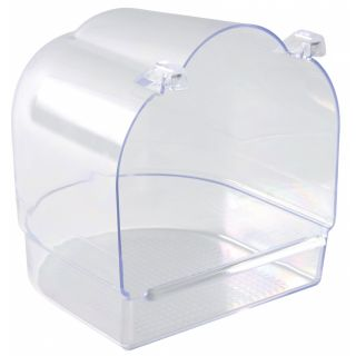 Bath House Semicircular Clear - 15x14x14cm