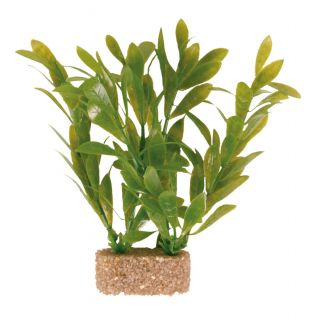 Assortment Plastic Plants w/Sand Base x6 - 30cm