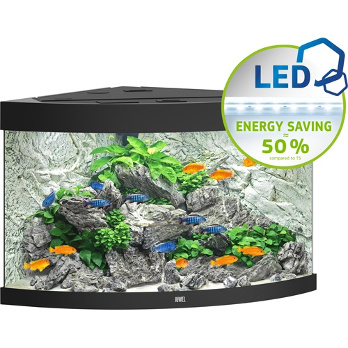 Trigon 190 Aquarium - Black LED