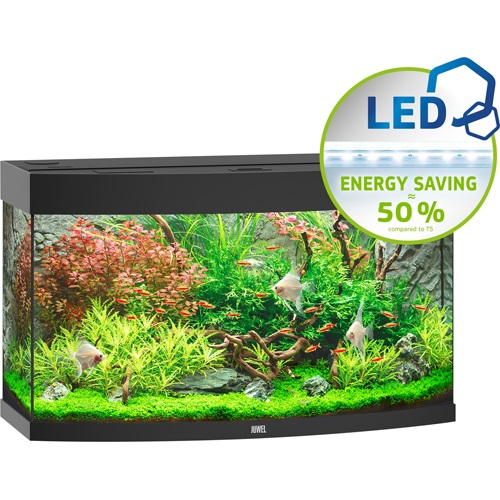 Vision 180 Aquarium - Black LED