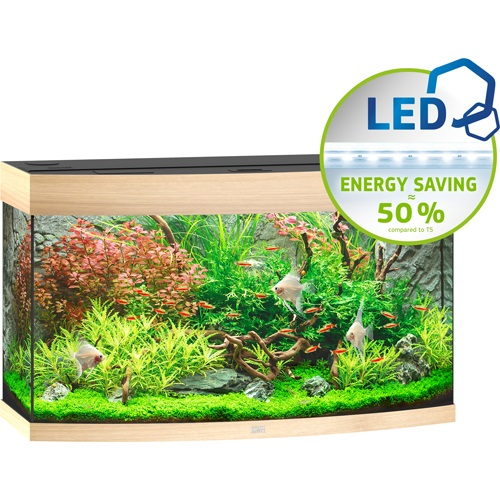 Vision 180 Aquarium - Light Wood LED