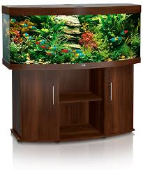 Vision 450 Aquarium - Dark Wood