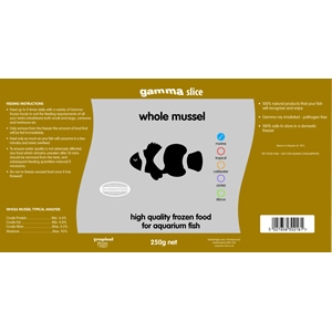Gamma Slice Whole Mussel 250g