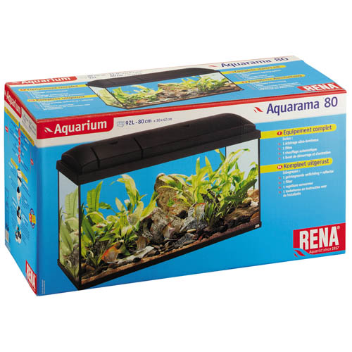 Aquarama 80 Tropical Black - 92l