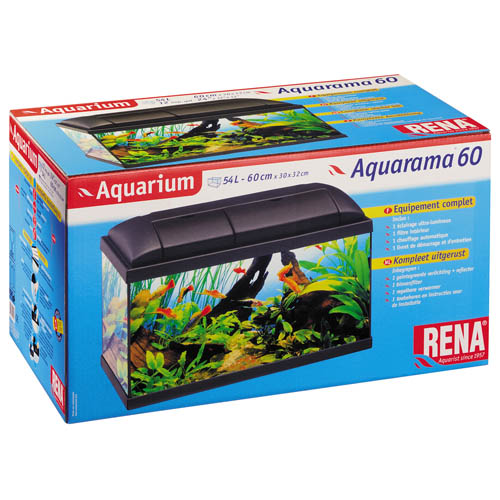 Aquarama 60 Tropical Black - 54l
