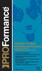 Chicken & Rice Maintenance 20kg