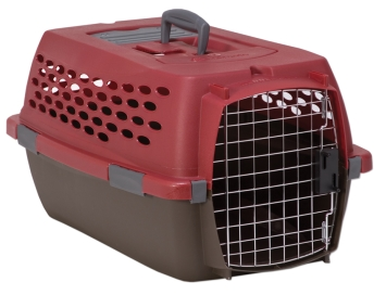 Vari Kennel Ultra - Red/Grey - Small