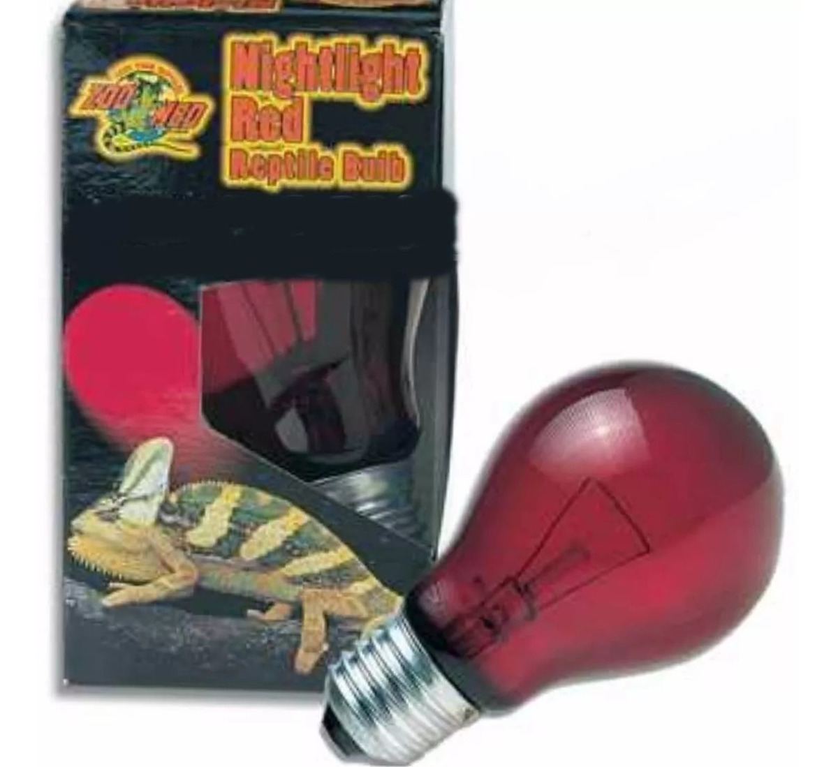 ZooMed Nightlight Red Reptile Bulb 60W