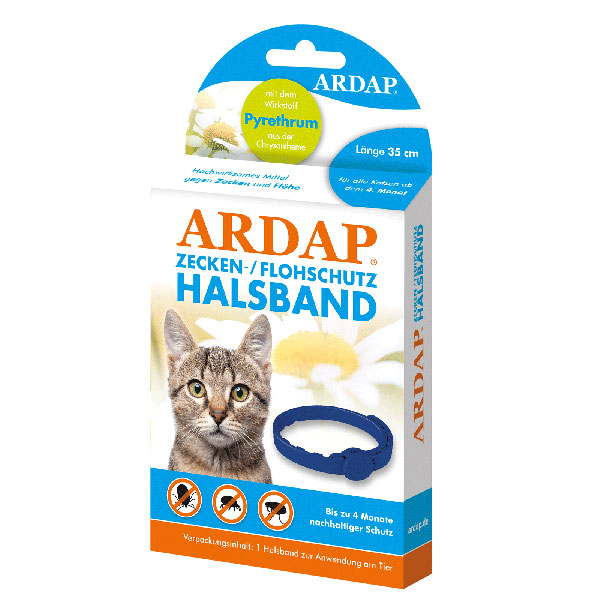 Ardap Tick & Flea Cat Collar 35cm