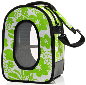 AEC 00716 Soft Sided Travel Carrier - Green - S