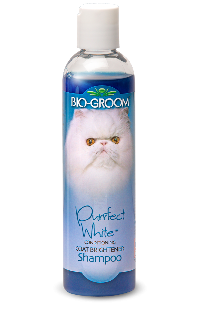 Bio-Groom Purrfect White Shampoo - 237ml