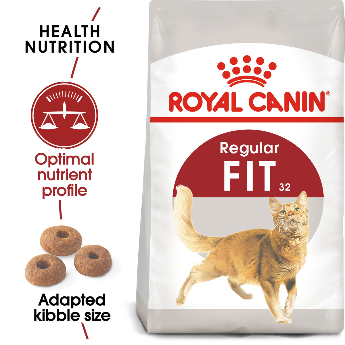 RC Fit Regular Maintenance Dry Adult Cat Food - 2kg