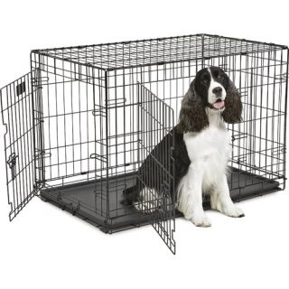 iCrate Coated 2 Door Wire Cage ML