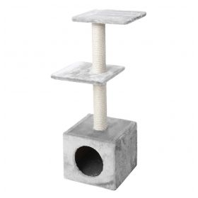 Palazzo Scratching post - Light Grey