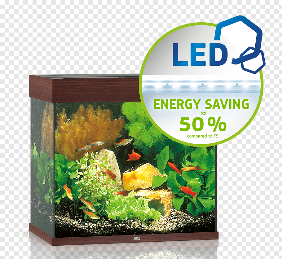 Lido 120 LED Aquarium  - Dark Wood