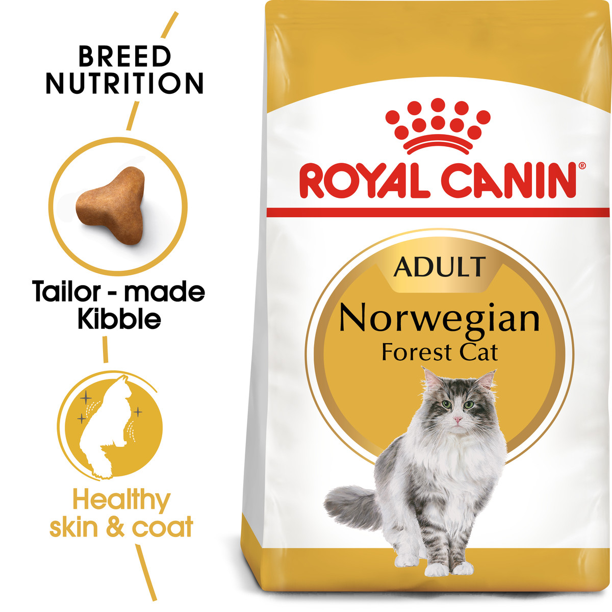 RC Feline Adult Norwegian Forest Dry Cat Food - 10kg